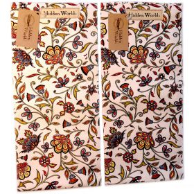2 Persia hidden world paradise tea towels