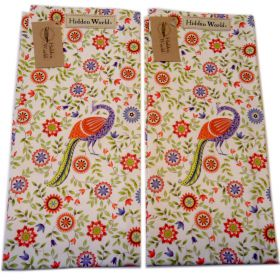 2 India Hidden World Udai Palace tea towels