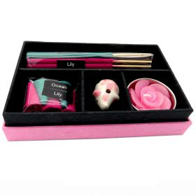 Incense gift box ocean & lily