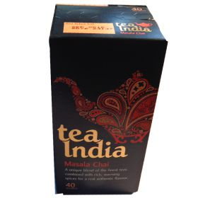 40pk Tea India Masala Chai Tea Bags