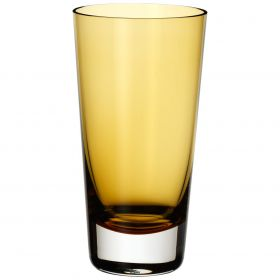 V&B amber glass highball tumbler 420ml