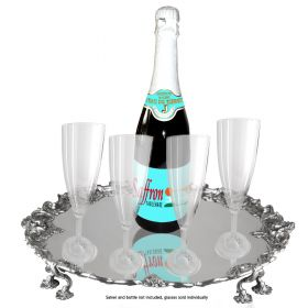 Elite glass-look 200ml champagne flute