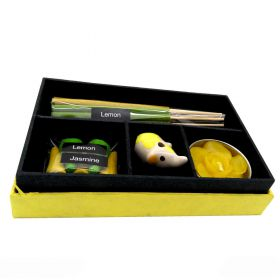 Incense gift box lemon & jasmine