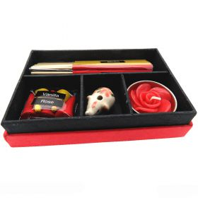 Incense gift box vanilla & rose